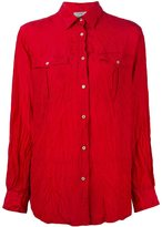 Forte Forte crinkled shirt - women - Silk - 0