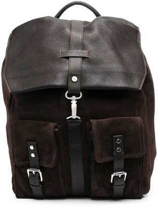 Eleventy Flap-Pocket Backpack