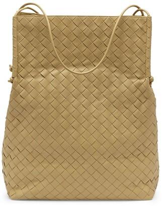 Bottega Veneta Leather Intrecciato Tote Bag