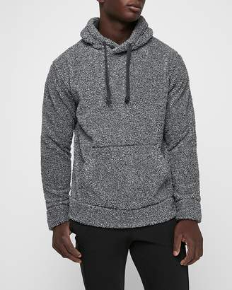 Express Drop Shoulder Sherpa Hoodie