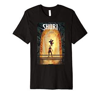 Marvel Comixology Shuri And Spider-Man Comic Book Cover Premium T-Shirt
