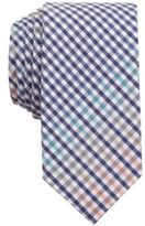 Bar III Men's Rugby Gingham Skinny Tie, Created for Macy's