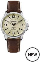 Barbour BB072CPBR Barnard Brown Leather Strap Mens Watch