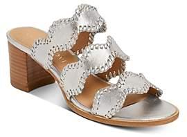 Jack Rogers Women's Logan Mid-Heel Sandals