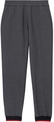 Burberry rib-knit cuff sweatpants