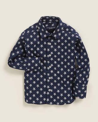 Manuell & Frank Toddler Boys) Starfish Long Sleeve Sport Shirt