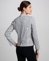 Ella Moss Kaycee Striped Twill Blazer