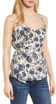 Splendid Floral Side Tie Tank