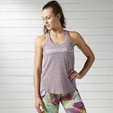 Reebok Women's El Prime Group Snow Melange Tank