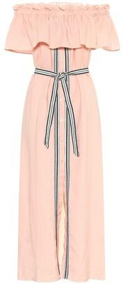 Lemlem Koki off-shoulder maxi dress