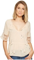 BB Dakota Alecia Embroidered Top Women's Clothing