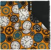fe-fe clock print scarf
