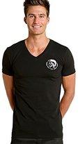 Diesel Men's Essentials Michael Mohican V-Neck T-Shirt