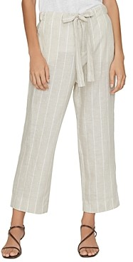 Sanctuary The Shayne Striped Linen Wide-Leg Pants