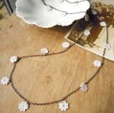 LaBelle et la Bete Lace Daisy Chain Necklace