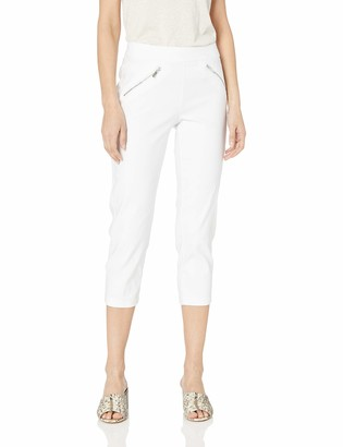 Nanette Lepore Women's Pull On Cropped Pants with FRS