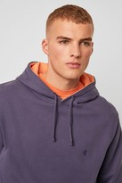 French Connenction Sunday Sweat Contrast Hoodie