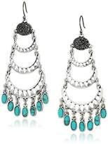 Lucky Brand Turquoise Chandelier Earrings
