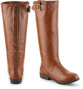 Journee Collection Women's Amia Riding Boot -Burgundy