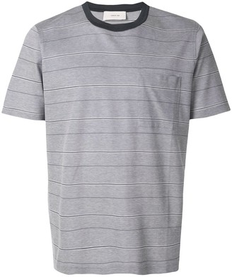 Cerruti chest pocket striped T-shirt