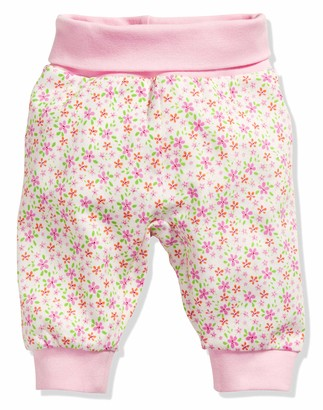 Schnizler Baby Girl's Interlock Flowers Baby Pump Trousers