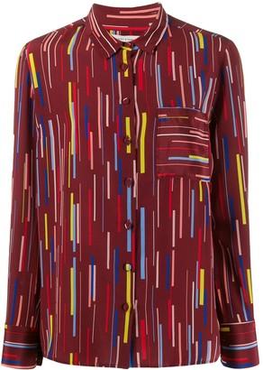 Chinti and Parker Stripe Print Shirt