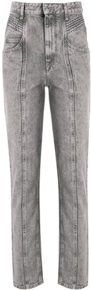 Etoile Isabel Marant Henoya high-rise slim-fit jeans