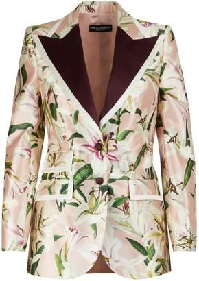 Dolce & Gabbana Silk blazer