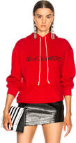 Rodarte Oversized Radarte Los Angeles Paris Embroidery Hoodie