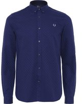 Fred Perry Men's Chequerboard Shirt L