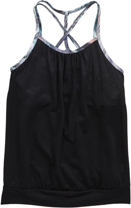 Zella Layered Cross Back Tank