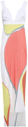 Gentry Portofino Gentryportofino Intarsia-knit Maxi Dress