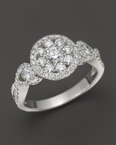 Roberto Coin 18K White Gold Diamond Ring