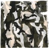 Valentino Camouflage Stole