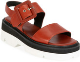 Dries Van Noten Leather Strappy Chunky Sandals