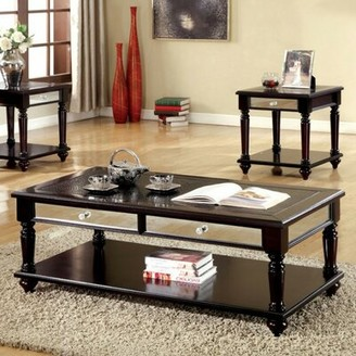 Canora Grey Barbery Contemporary 3 Piece Coffee Table Set Canora Grey