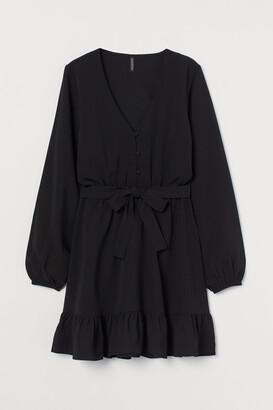 H&M V-neck Dress
