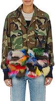 Harvey Faircloth Women's Cotton & Fur Field Jacket