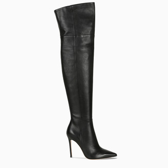 Gianvito Rossi Black leather cuissardes