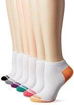 Steve Madden Women's 6 Pack Fashion Athletic Color Block Toe/Sole Low Cut