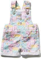 M&Co Patchwork dungarees