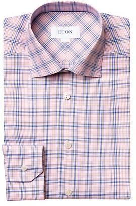 Eton Regular-Fit Plaid Cotton Shirt