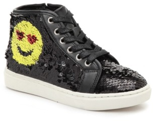 Steve Madden Smiley High-Top Sneaker - Kids'