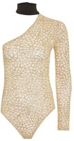 Jaded London **Glitter Mesh Body