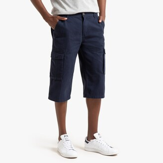 La Redoute Collections Cotton Cargo Shorts