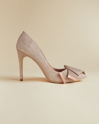 Ted Baker Metallic Bow Detail Courts