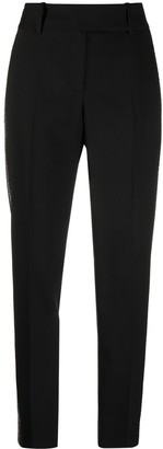 Ermanno Scervino Sequin-Embellished Tailored Trousers