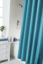 Spectrum 180 x 180 cm Shower Curtain and Rings Set, Teal