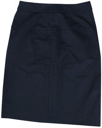 Filippa K Black Cotton Skirt for Women
