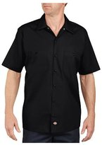 Dickies Men's Short-Sleeve Industrial Poplin Work Shirt - L